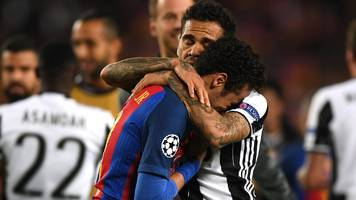 juventus defence shuts out barca