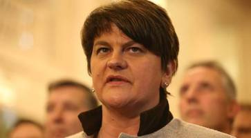 dup fined £1,000 - forgot to tell electoral commission about arlene foster
