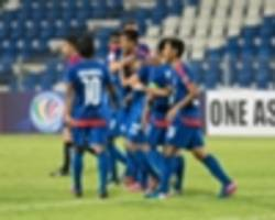afc cup 2017: bengaluru maintain perfect start; home united qualify for zonal playoffs
