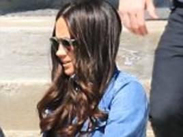 Meghan's latest curly hairstyle is just like Kate's