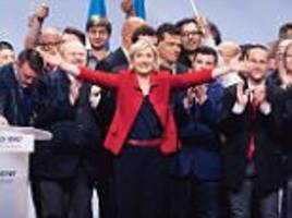 Marine Le Pen says French people feel 'dispossessed'