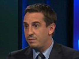 ronaldo can become a great centre-forward, says neville