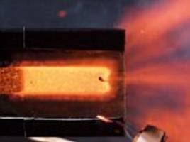 video shows the inside a rocket when it blasts off