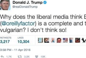 there's a super easy way to find out what trump has tweeted about any given subject