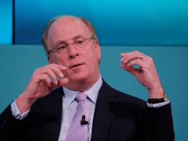 blackrock ceo larry fink shares the two leaders who most inspire him — and neither comes from finance