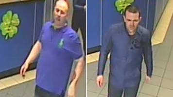 cctv released over serious assault at glasgow bookmakers