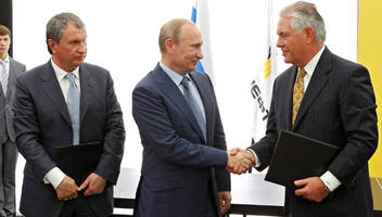 Exxon Seeks Russian Sanctions Waiver To Work With Rosneft