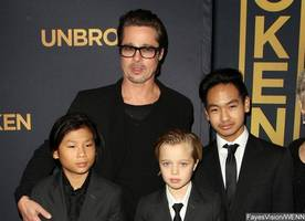 Brad Pitt's All Six Kids Visit Him for the First Time Since Angelina Jolie Split