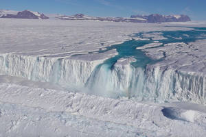 Antarctica's massive lakes, rivers, and streams could help us understand rising sea levels