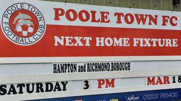 National League South: Poole Town and Hungerford Town in play-off limbo