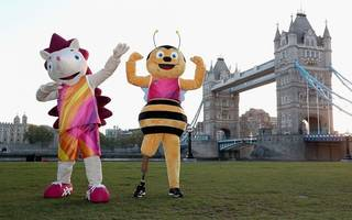 meet the mascots for london's 2017 world championships