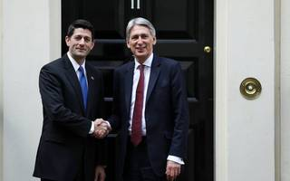 Paul Ryan says US is ready to forge a new bilateral trade deal with the UK