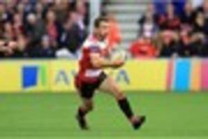 greig laidlaw hands gloucester fitness boost