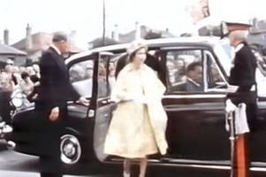 as east kilbride new town celebrates its 70th anniversary we remember queen's royal appointment