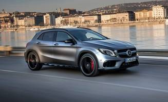Wee AMGs: The Updated Mercedes CLA45 and GLA45 Are as Raucous as Ever