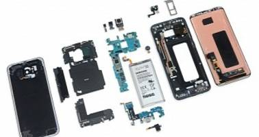 Galaxy S8+ Teardown Reveals Poor Repairability, Battery Similar to Galaxy Note 7