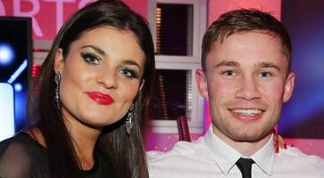 sinister threat to boxing star carl frampton's family