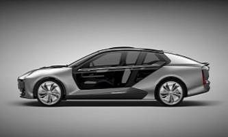 Qoros Model K-EV Presented In Shanghai, Will Get A Production Version in 2019