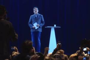 A French presidential candidate is using his 'hologram' to reach more voters