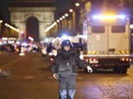 Eyewitnesses tell of terror on the Champs-Elysees