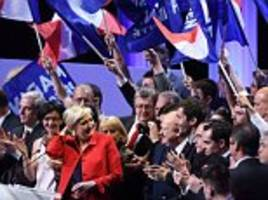 most french police officers say they are voting for le pen