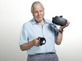 Sir David Attenborough will be turned into a HOLOGRAM