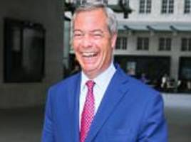 ex ukip leader nigel farage rules out standing in election