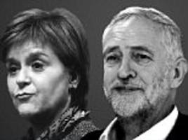 Sturgeon plans coalition with Labour and Lib Dems