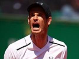 andy murray suffers shock defeat at monte carlo masters