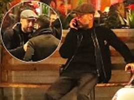 Man City boss Pep Guardiola attends backroom staff dinner