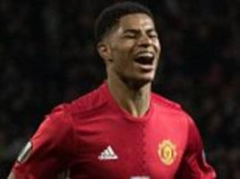 Rashford relieved to fire Man United into semi finals