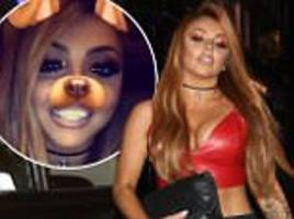 Jesy Nelson confirms single status on raucous night out
