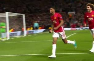 Marcus Rashford strikes for Manchester United in extra time | 2016-17 UEFA Europa League Highlights