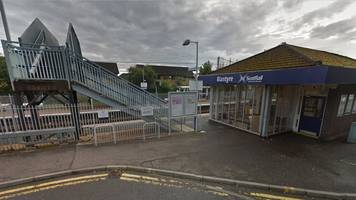 man attacked by two teenagers on train