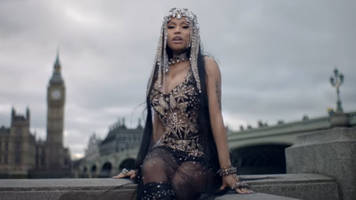 Nicki Minaj criticised over Westminster Bridge video, filmed the day before the attack