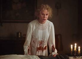 nicole kidman is covered with blood in 'the beguiled' full trailer