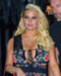 Jessica Simpson turns tantalising temptress in rare night on the town