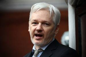 The Justice Department is reconsidering charges against Julian Assange and Wikileaks