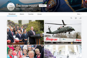 The Trump administration resurrects the White House's Flickr account