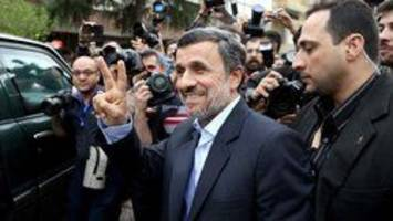 Mahmoud Ahmadinejad disqualified from Iran's presidential election