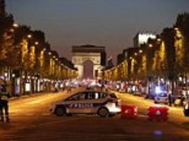 Paris terror attack: Police officer shot on Champs Elysees