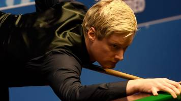 World Championship 2017: Neil Robertson beats Noppon Saengkham in first round
