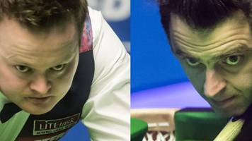world championship 2017: shaun murphy & ronnie o'sullivan prepare to meet