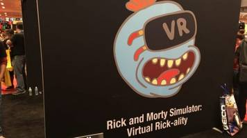 I Want VR Szechuan Sauce in Rick and Morty Simulator