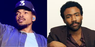 chance the rapper and donald glover in <i>time</i> magazine's 100 most influential people list