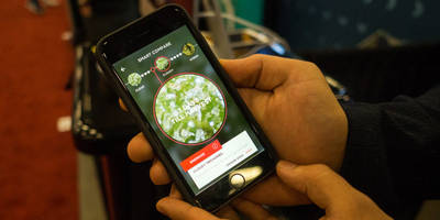 Snaphash is an augmented reality weed doctor for your iPhone