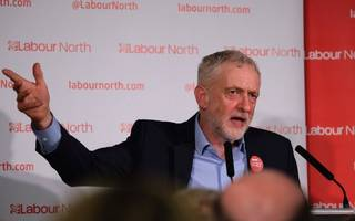 """corbyn begins labour's election fight with """"rigged systems"""" rant"""