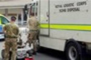 Bomb disposal squad called to Woodstock Close, Allestree