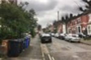 Man in hospital with 'burns to his body' after house fire in...