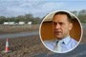 humberside pcc keith hunter 'not bothered' if travellers site...